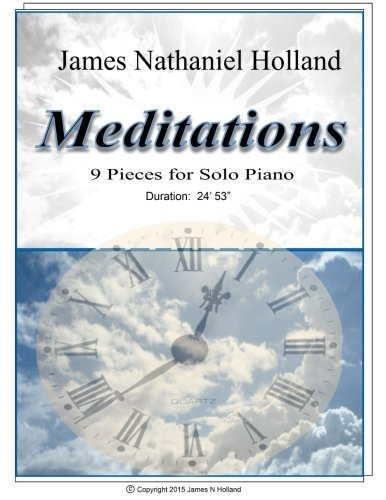9781517760755: Meditations 9 Pieces for Solo Piano