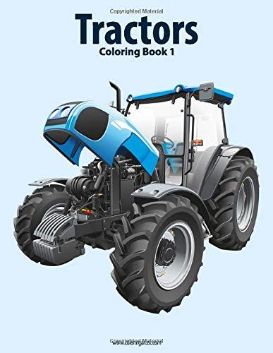 9781517767365: Tractors Coloring Book 1 (Volume 1)