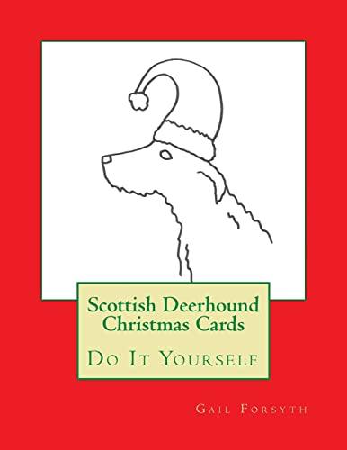 9781517770785: Scottish Deerhound Christmas Cards: Do It Yourself