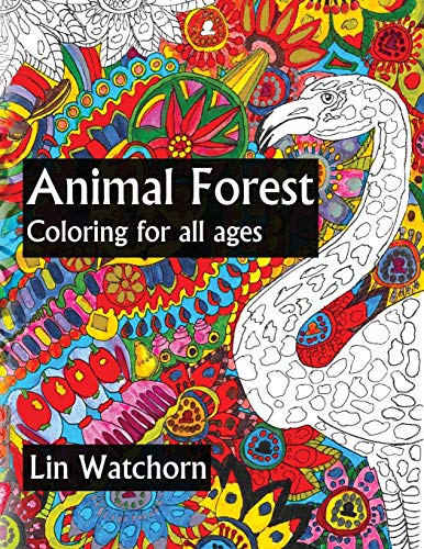 9781517771461: Animal Forest: Coloring For All Ages