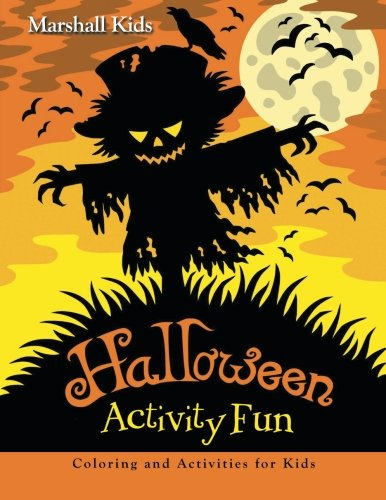 9781517772918: Halloween Activity Fun: Coloring and Activities for Kids