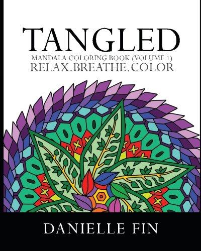 9781517787967: Mandala Coloring Book: Tangled - Mandala Coloring Book (Adult Coloring Book) (Volume 1)