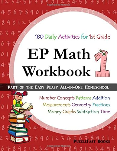9781517797768: EP Math 1 Workbook: Part of the Easy Peasy All-in-One Homeschool