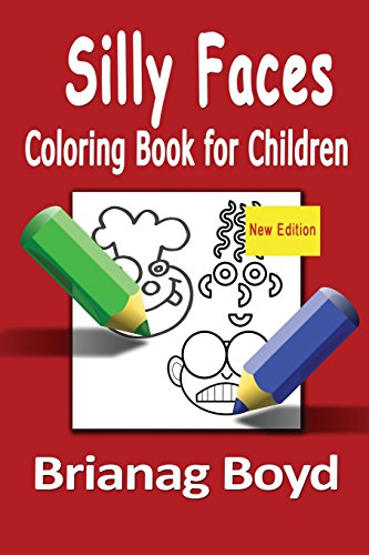 9781518602009: Silly Faces Coloring Book for Children: Coloring Book for Children