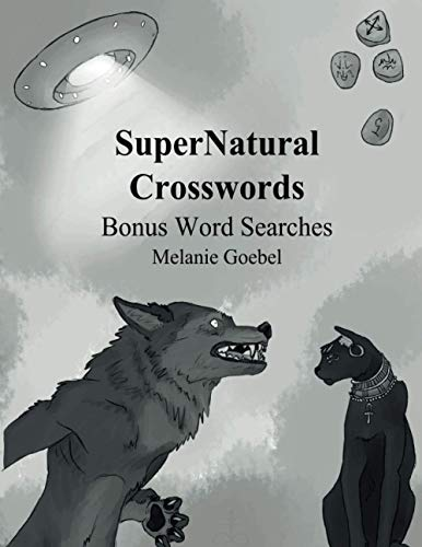 9781518613913: SuperNatural Crosswords: Bonus Word Searches