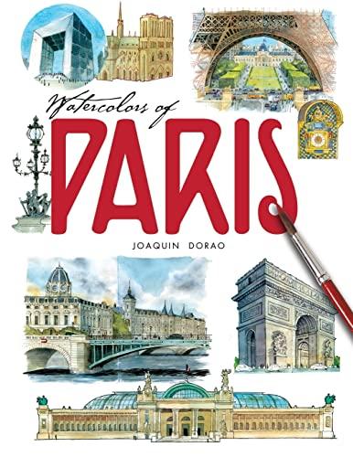 9781518621499: Watercolors of Paris