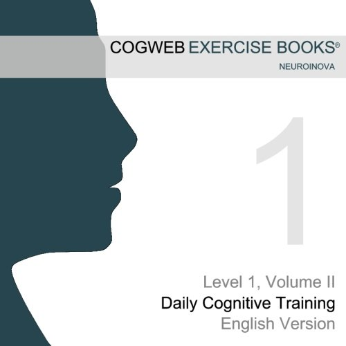 9781518621789: Cogweb Exercise Books Level 1, Volume II: Daily Cognitive Training. English Version