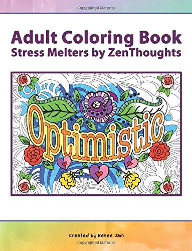 9781518623103: Adult Coloring Book: Stress Melters by ZenThoughts (ZenThoughts Coloring Books) (Volume 7)