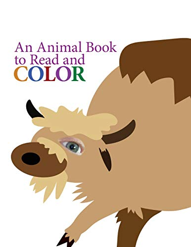 An Animal Book to Read and Color: Brad Dixon