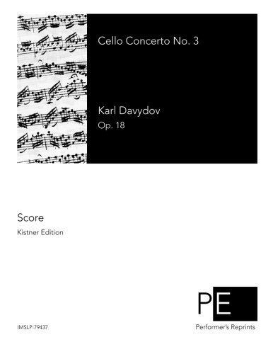 9781518656590: Cello Concerto No. 3