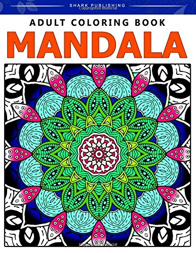9781518661969: Adult Coloring Book Mandala: Stress Relieving Patterns : Colorama Coloring books, coloring books for adults relaxation, Mandala Coloring Book