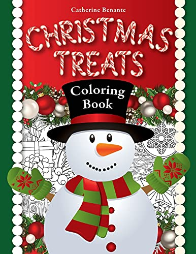 9781518673726: Christmas Treats: A Holiday Coloring Book (Coloring Journeys) (Volume 2)