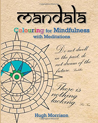 9781518687594: Mandala Colouring for Mindfulness with Meditations