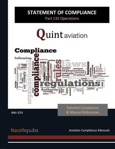 9781518693014: Statement of Compliance: Part 135 Certification