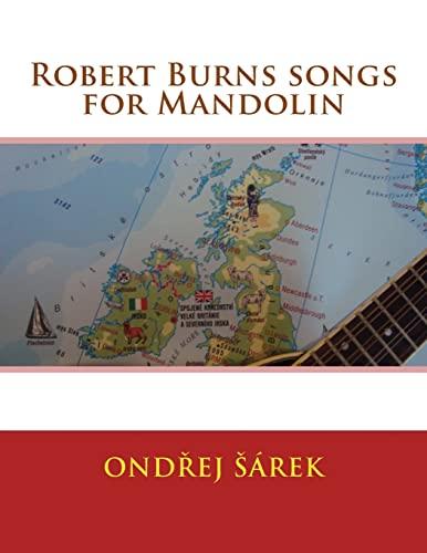 9781518694912: Robert Burns songs for Mandolin