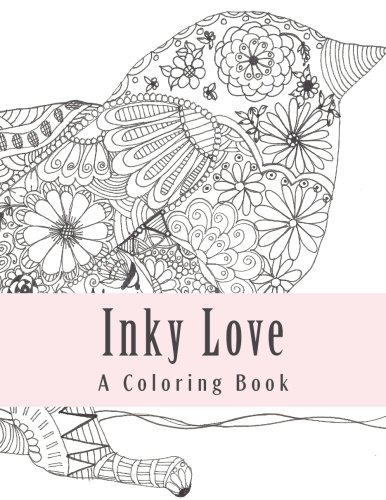 9781518706271: Inky Love: A Coloring Book