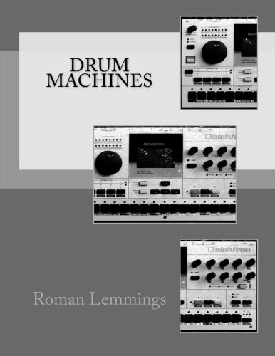 9781518722660: Drum Machines