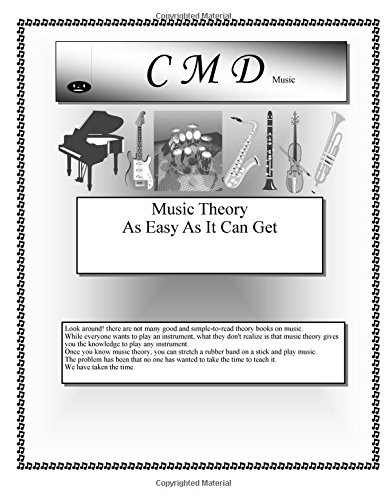 9781518739859: Music Theory As Easy As It Can Get