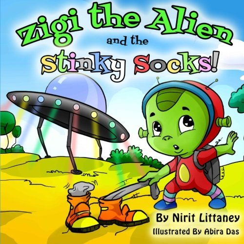 9781518745621: Zigi the Alien and the Stinky Socks (Volume 1)