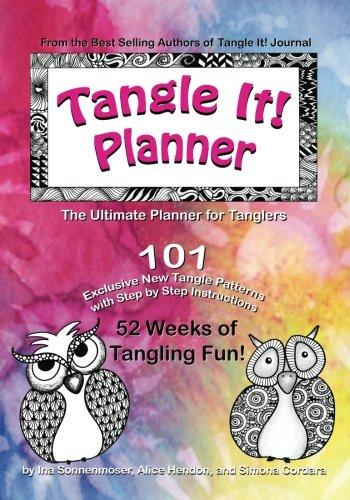 9781518764486: Tangle It! Planner (Volume 1)