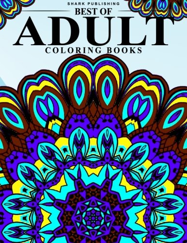 9781518773914: Best of Adult Coloring Books: Stress Relieving Patterns : Colorama Coloring books, coloring books for adults relaxation, Mandala Coloring Book