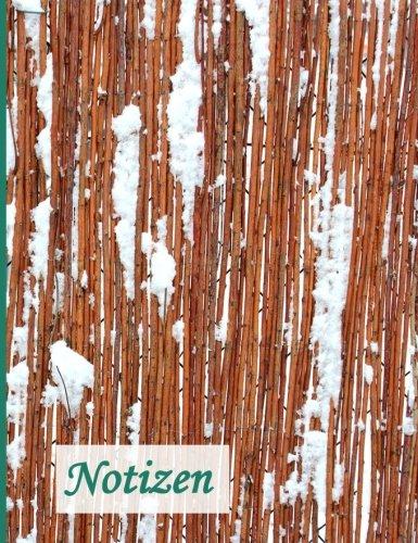 9781518774911: Notizbuch: BROCKHAUSEN - Das praktische Notizbuch - Weidenzaun im Schnee: Volume 15 (Winterinspirationen)