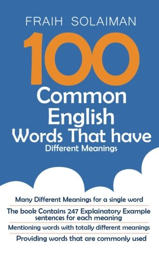 100 Common English Words That Have Different: Fraih Solaiman