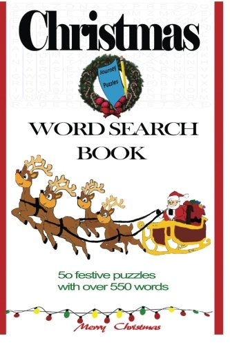 9781518785351: Journey Christmas Word Search Book