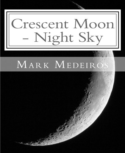 9781518789762: Crescent Moon - Night Sky