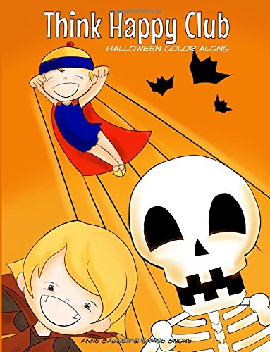 9781518811371: Think Happy Club: Halloween Color Along (Volume 2)