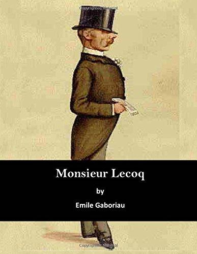 Monsieur Lecoq (Paperback): Emile Gaboriau