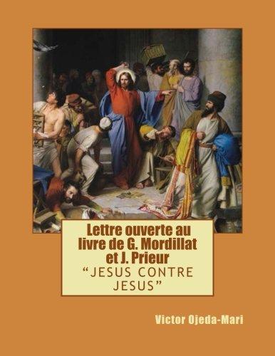 Jcj - Lettre Ouverte Au Livre de: MR Victor Ojeda-Mari