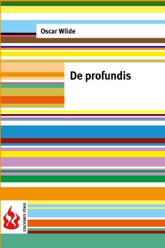 9781518817502: De profundis: (low cost). Edition limitada
