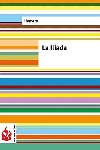 9781518817656: La Ilíada: (low cost). Edición limitada (Spanish Edition)