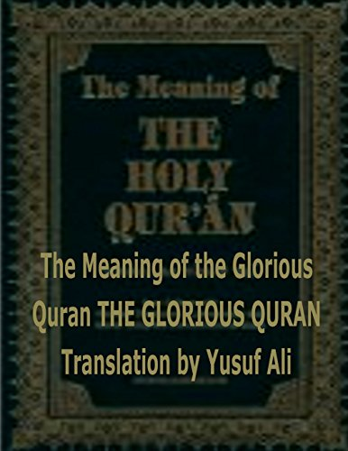 9781518846007: The Meaning of the Holy Quran