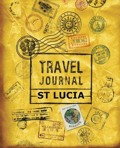 9781518846236: Travel Journal St Lucia
