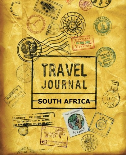 9781518846915: Travel Journal South Africa