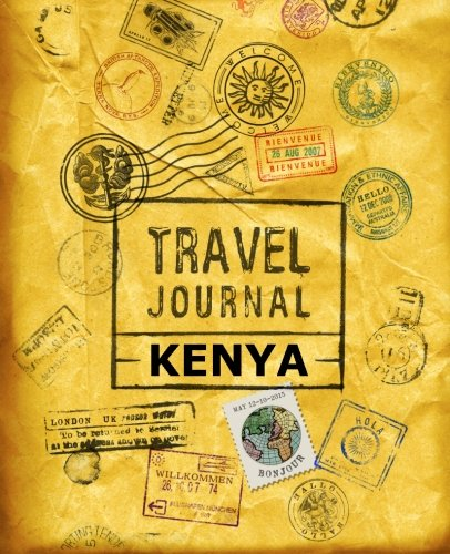 9781518847165: Travel Journal Kenya
