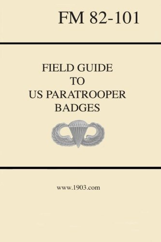 9781518861857: Field Guide to US Paratrooper Badges