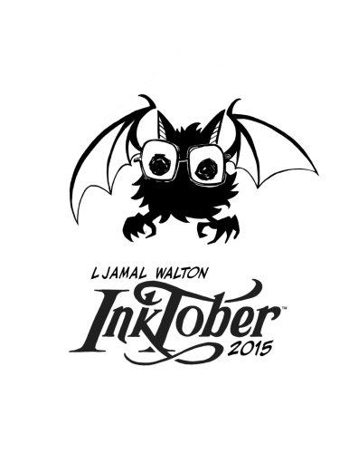 9781518869426: L Jamal Walton Inktober 2015