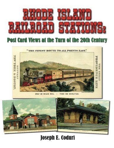 9781518871252: Rhode Island Railroad Stations: Post Card Views at the Turn of the 20th Century