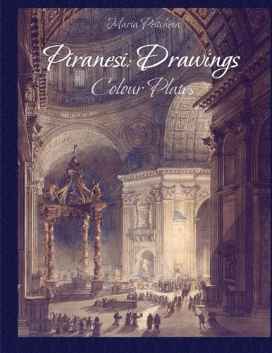 9781518876714: Piranesi:Drawings Colour Plates