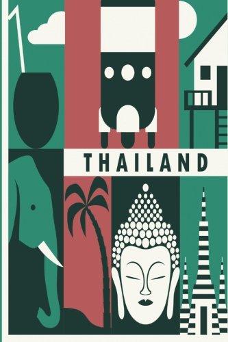 9781518881626: Thailand Travel Journal: Wanderlust Journals