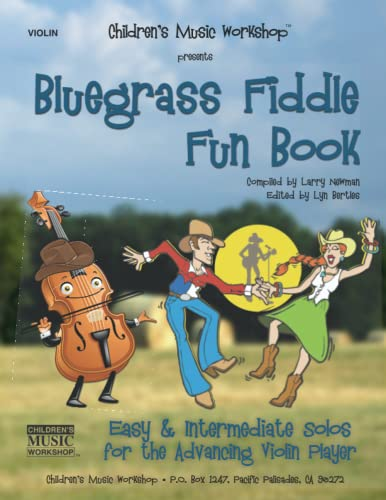 9781518886492: Bluegrass Fiddle Fun Book: Easy & Intermediate Solos for the Advancing Violin Player