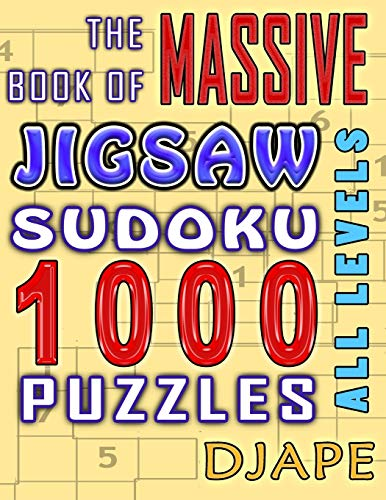 9781518891786: The Massive Book of Jigsaw Sudoku: 1000 puzzles (Volume 1)