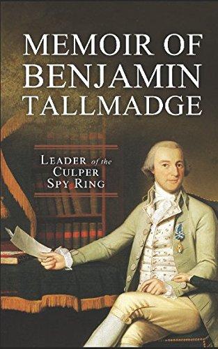 9781519085993: Memoir of Colonel Benjamin Tallmadge