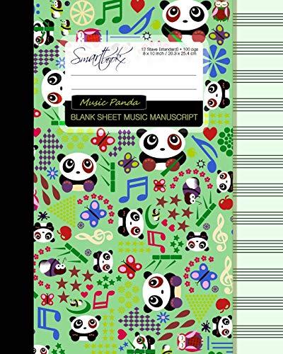 9781519108838 Blank Sheet Music Music Manuscript Paper Staff
