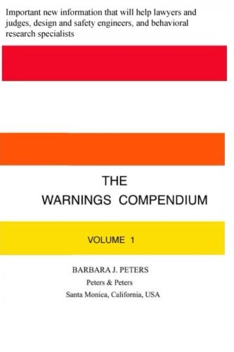 9781519111357: The Warnings Compendium (Volume 1)