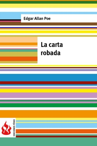 9781519124432: La carta robada: (low cost). Edición limitada (Spanish Edition)