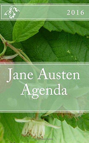 9781519131263: Jane Austen Agenda 2016: - English Edition -